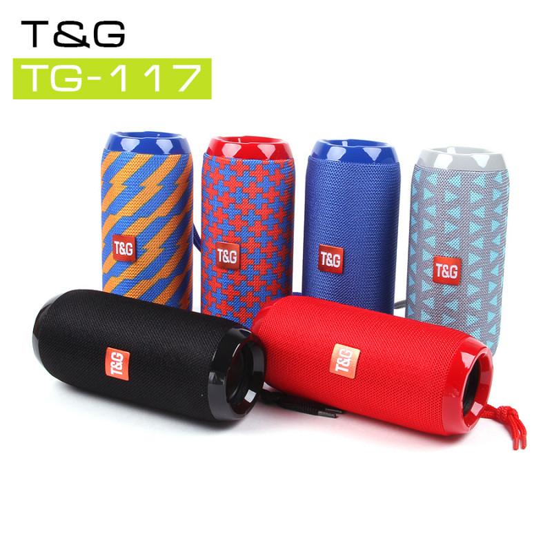 Музыкальная колонка T&G TG-117, арт.010239