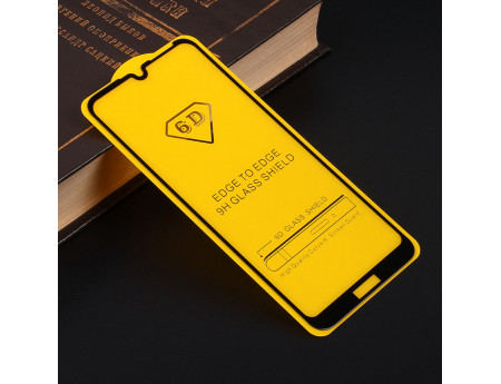 Защитное стекло Full Glue для Huawei Y6 (2019), арт.010630