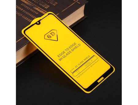 Защитное стекло Full Glue для Huawei Y7 (2019), арт.010630