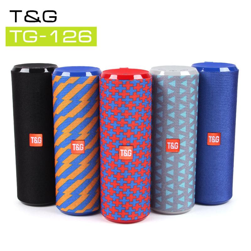Музыкальная колонка T&G TG-126, арт.011190