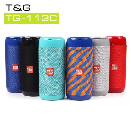 Музыкальная колонка T&G TG-113C, арт.011198