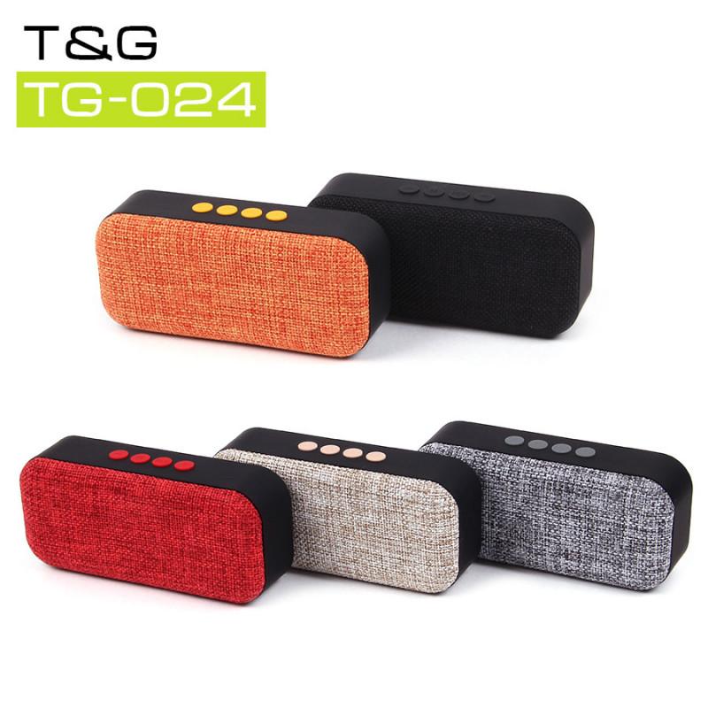 Музыкальная колонка T&G TG-024, арт.011204