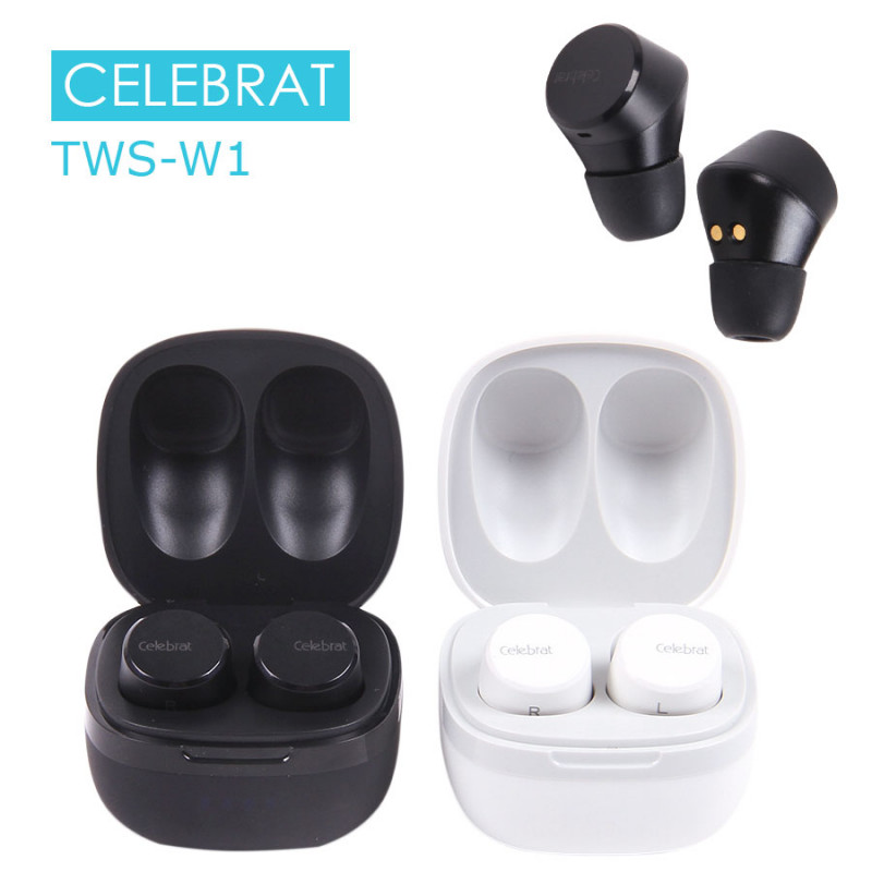 Беспроводные наушники Celebrat TWS-W1, арт.011280